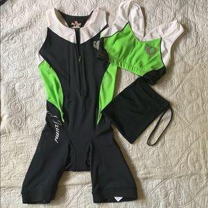 Triathlon Two-piece Singlet